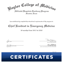 Click here to order Certificates