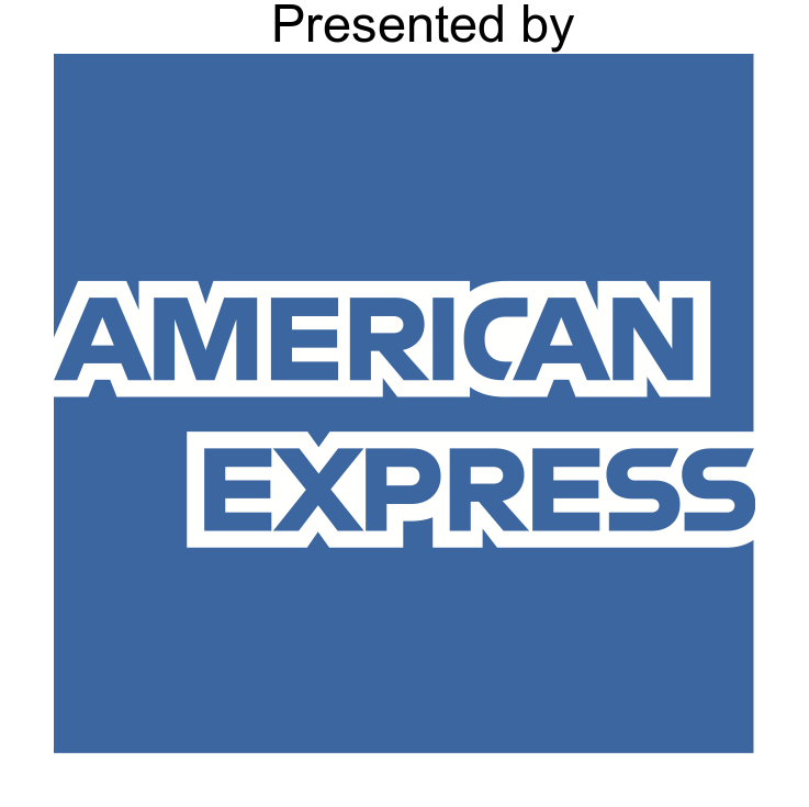 Presented in partnership with American Express
